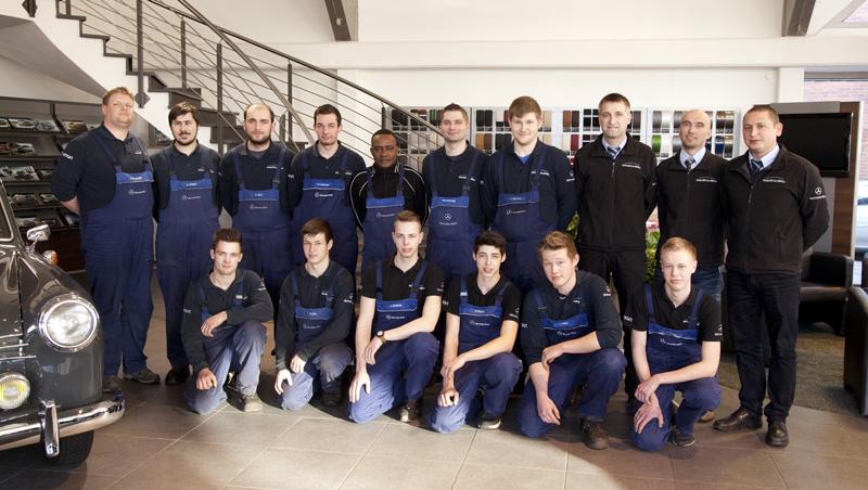 Das Wekstatt-Team von Knauer & Liebau.